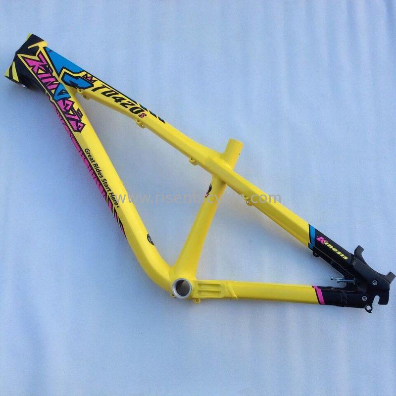 marco de aluminio de la bici de montaña del marco de la bici del ...